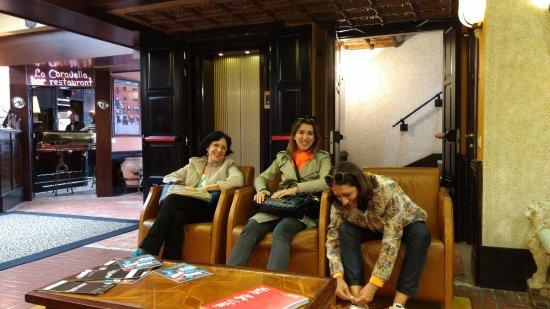 Hotel Saturnia & International: Prontas para conhecer Murano!