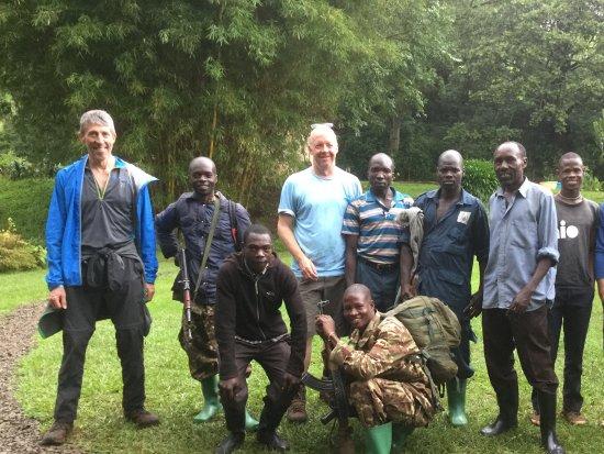 Mount Elgon National Park: Mount Elgon Trek - the whole team