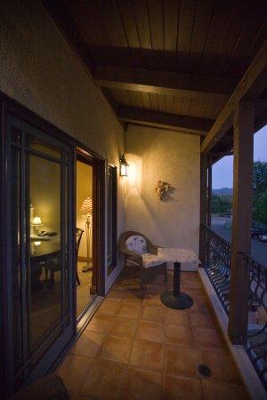 Hopland, CA: Private Balcony