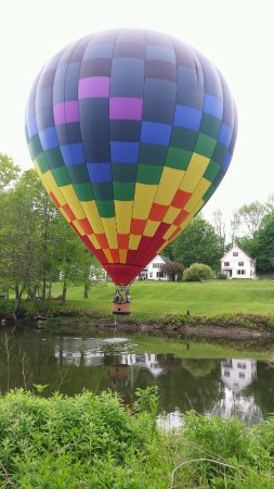 Balloons of Vermont - Private Flights: Superb balloon ride