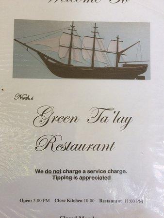 Nuch's Green Ta'lay Restaurant Photo