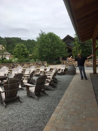 Devils Backbone Brewing Company: Adirondack Chairs Around The Firepit