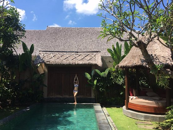 Space at Bali: Nice private pool