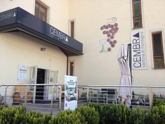 Cembra, إيطاليا: La cave vinicole