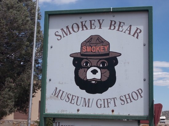 Smokey Bear Museum and Gift Shop: Smokey Bear Museum & Gift Shop, Capitan NM. Very nice.
