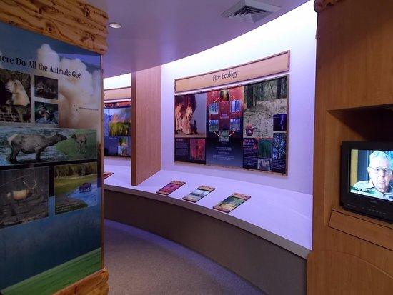 Smokey Bear Historical Park, Capitan NM. Visitor's Center.