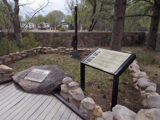 Smokey Bear Historical Park, Capitan NM. Here rests Smokey.