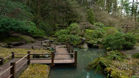 Portland Japanese Garden: There Are Interesting Walkways That Lead You.