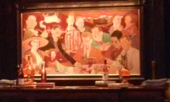 The Algonquin Hotel Times Square, Autograph Collection: Painting Of The  Algonquin Round Table In