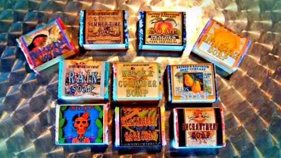 El Prado, Nuevo Mexico: Summer Soaps at New Mexico's favorite Soap Shop ~ Nature's Emporium Cherokee Soap co.