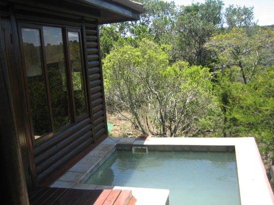 Kariega Game Reserve, แอฟริกาใต้: piscina privata della camera