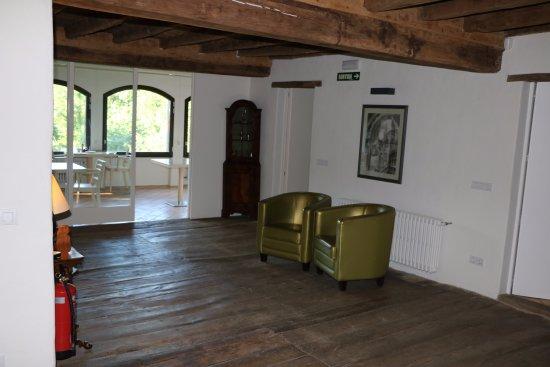Sant Feliu de Pallerols, Spain: Second floor hallway