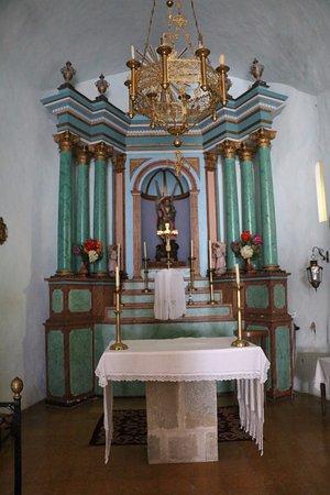 Sant Feliu de Pallerols, Spain: Chapel interior