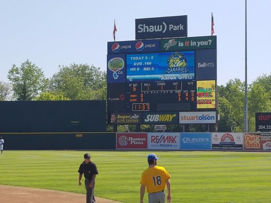 Shaw Park: Goldeyes starting off Strong!
