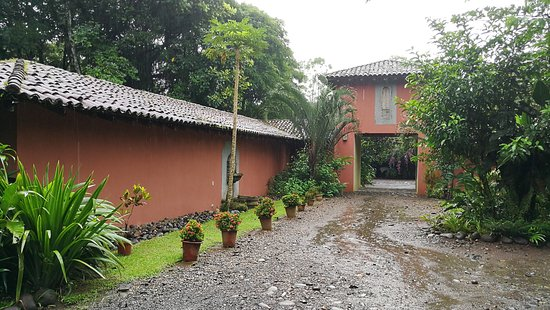 Horquetas, Costa Rica: view from the parking