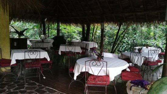Horquetas, Costa Rica: The restaurant