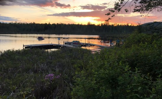 Mountain Lake Campground and RV Park: Gorgeous sunsets