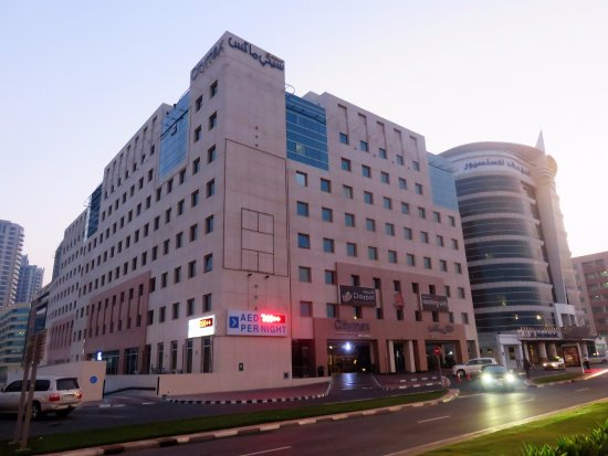 Outside view citymax hotel bur dubai picture of citymax for Tripadvisor dubai hotels