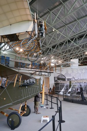 College Park, MD: Early aircraft by Wrights, Curtiss, and Bleriot.