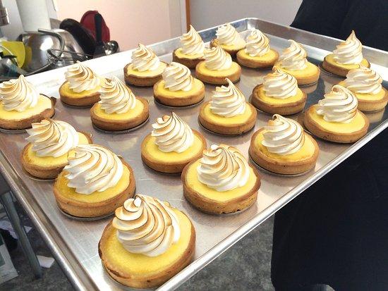 Maria, Canada : Tartelette au citron meringuée de rêve