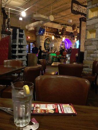 Seekonk, MA: dining room into bar