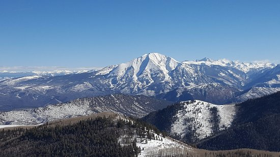 Sunlight Mountain Resort: Mt. Sopris (a back-side view)!
