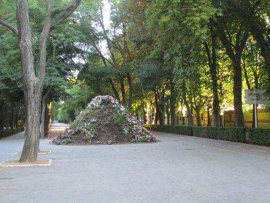 Parque de la Isla.: 綺麗に整備されています