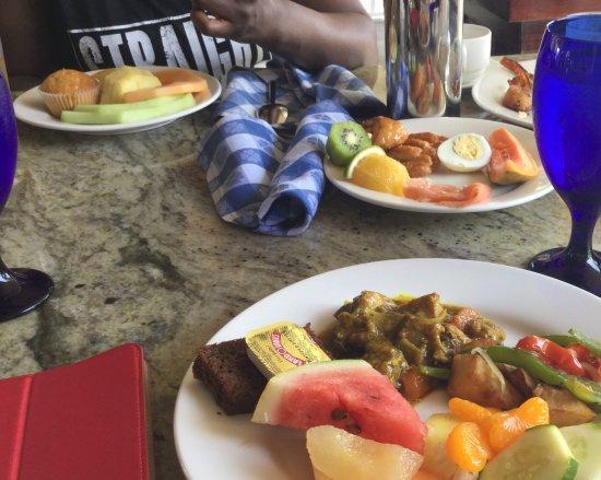 Beaches Ocho Rios Resort & Golf Club: Good Food