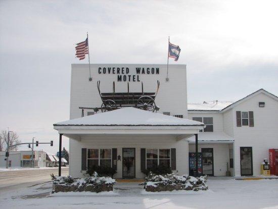 Lusk, WY: Hotel Entrance