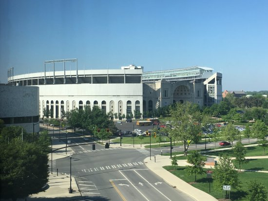 The Blackwell: View of Ohio Stadium from our room