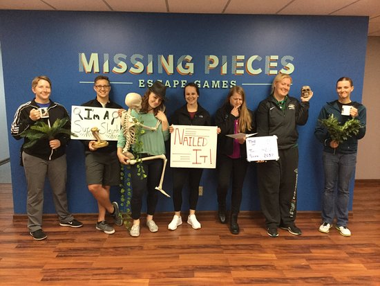 Edina, MN: Missing Pieces Escape Games offers adventures for people ages 8-108