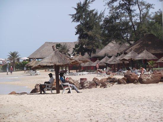 Lookea Royal Baobab: la plage avec Pierre le maitre najeur !