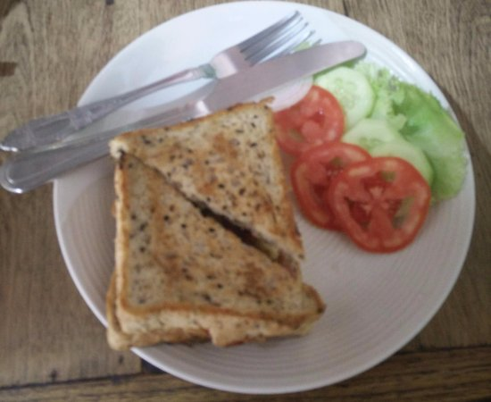 Funky Dog Cafe: Bacon sandwich