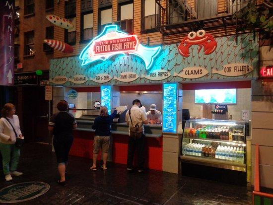 Fulton fish fries las vegas restaurant reviews phone for Fish market las vegas