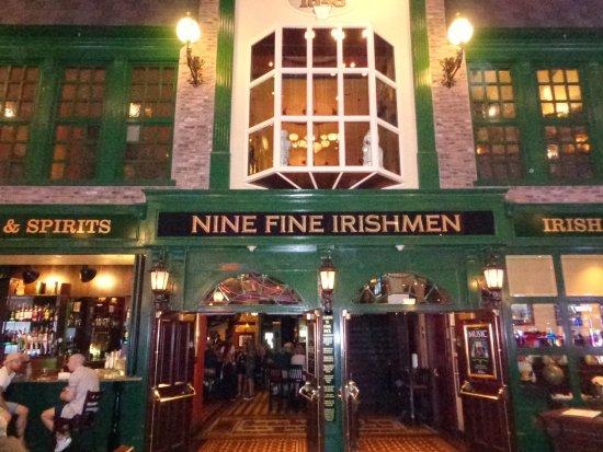 Nine Fine Irishmen: Front