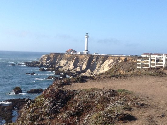 Point Arena, Californie : The iconic lighthouse