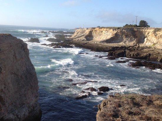 Point Arena, CA: Rugged coastline