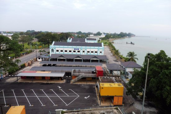 Muar Traders Hotel: View from the Cafe Alfresco
