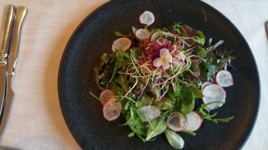 Aire-la-Ville, Suisse : green salad