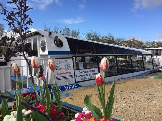 """Moissac, Francja: Bateau """"L'Entre deux Mers"""" au Quai d'embarquement"""
