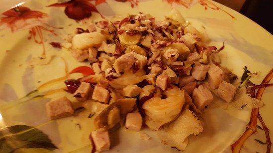 Quistello, İtalya: antipasto della casa al tartufo