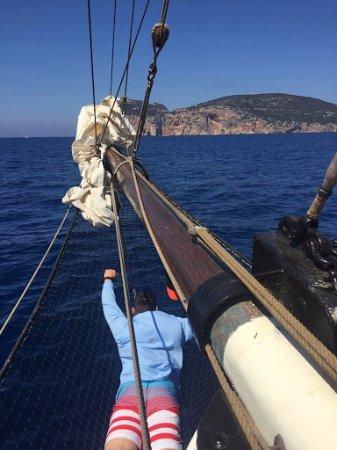The Andrea Jensen Boat Trip: the hammock!