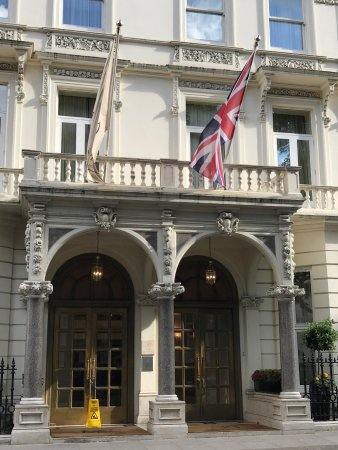 The Bentley London: Front of the hotel