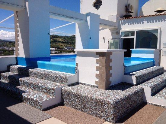 piscina sul terrazzo - Foto di Grand Hotel Excelsior, San ...