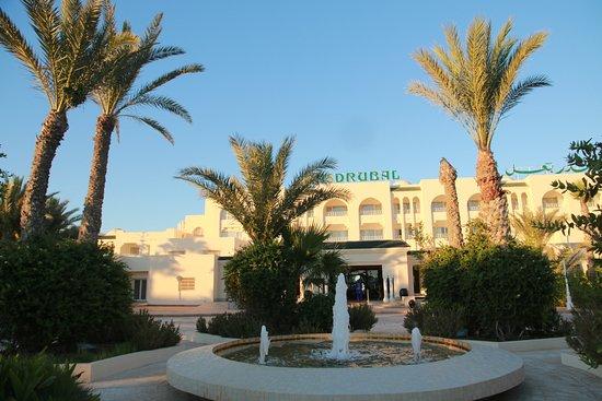 Hasdrubal Thalassa & Spa Djerba: facade entree