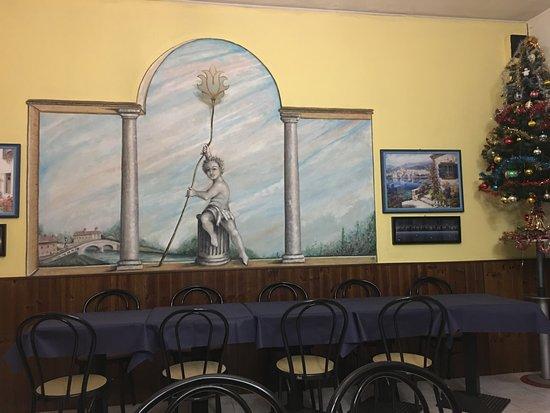 Cassinetta di Lugagnano, Italie : sfondo parete