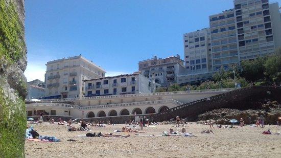 R ception picture of hotel de la plage biarritz - Hotel de la plage biarritz 3 esplanade du port vieux ...