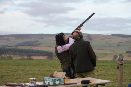 Clay Shooting With Full Instruction For Not Only Crack Shots But A