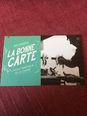 Le Trait, France: La Bonne Carte