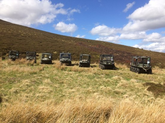 Glenlivet, UK: Our fleet on a corporate day.